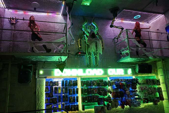 cyber goth dancers cyberdog