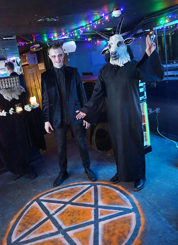 london satanic temple satanists party