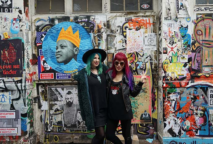 london goth metal fashion bloggers