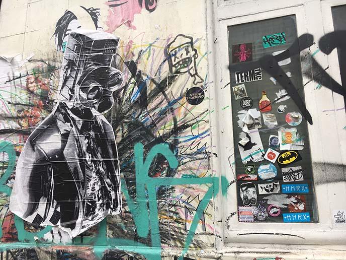 shoreditch hipsters street art