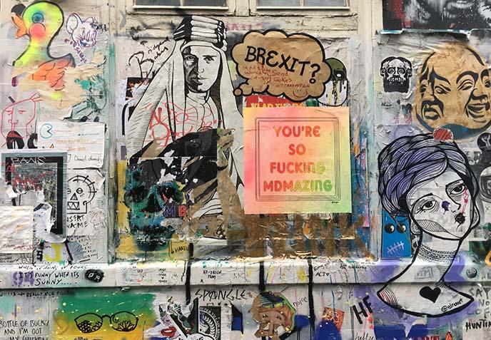 brexit protest art shoreditch