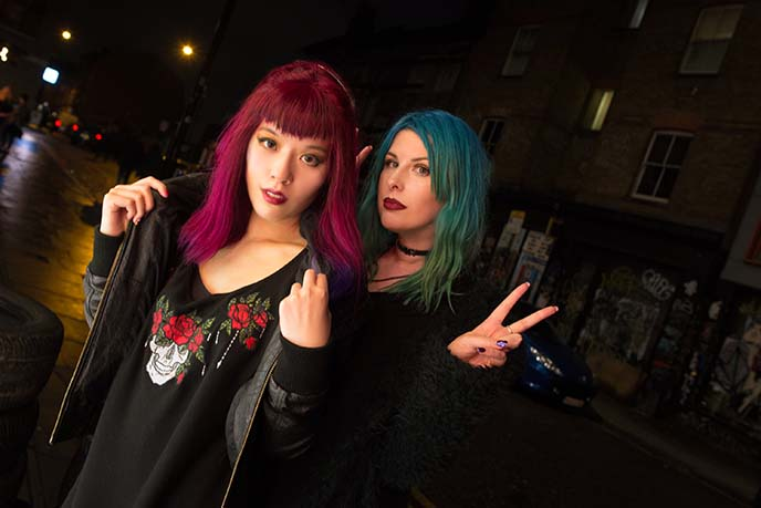 london colored hair bloggers instagram