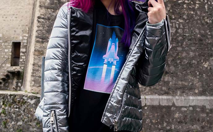 synthwave vaporwave top shirt spaceship