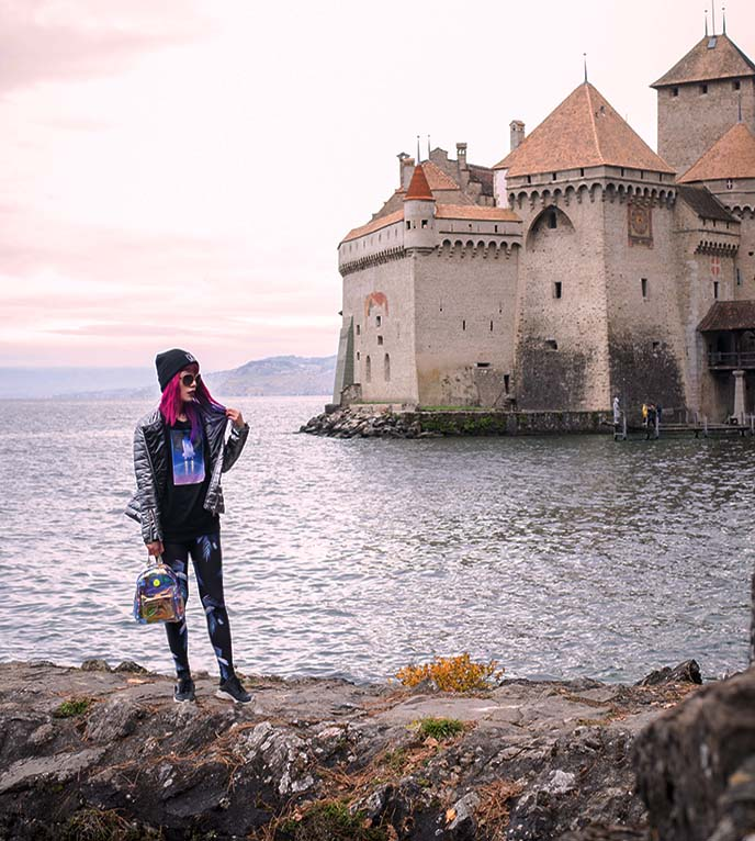 chillon castle chateau montreux switzerland
