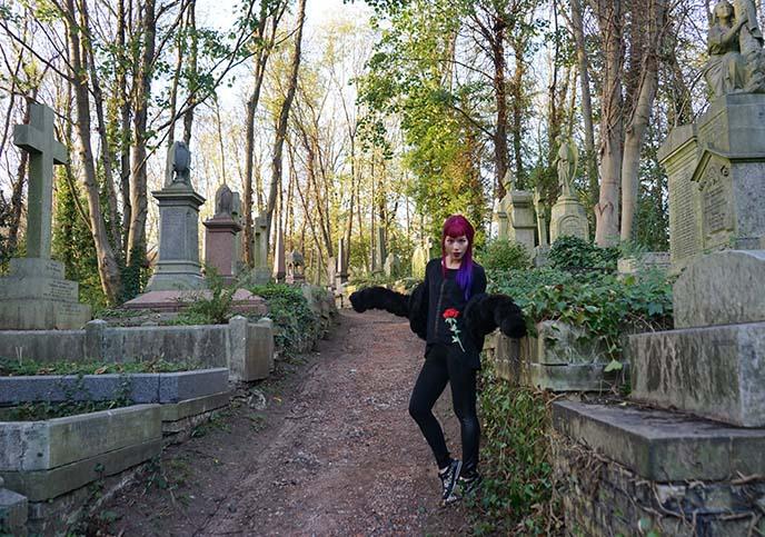 goth fashion blogger london uk