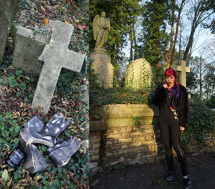 london haunted graveyard tombs