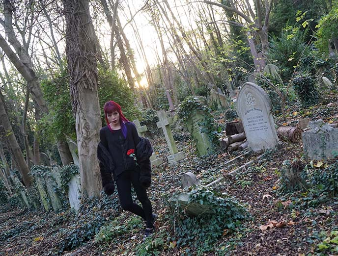 george michael highgate cemetery grave