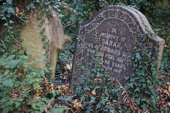 london uk english graveyard