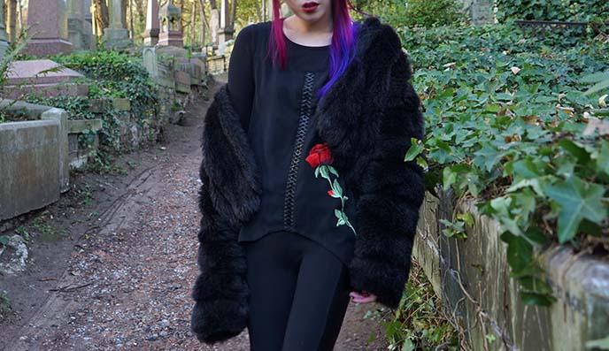 rose gothic top jawbreaker clothing
