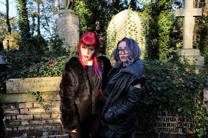 london goths, artist zoetica ebb