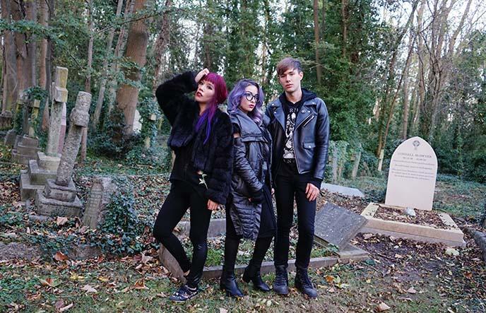 london goths, gothic fashion