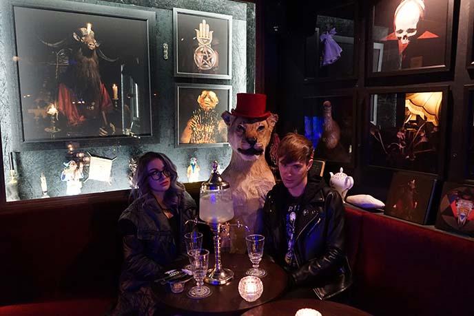 london absinthe bar uk gothic