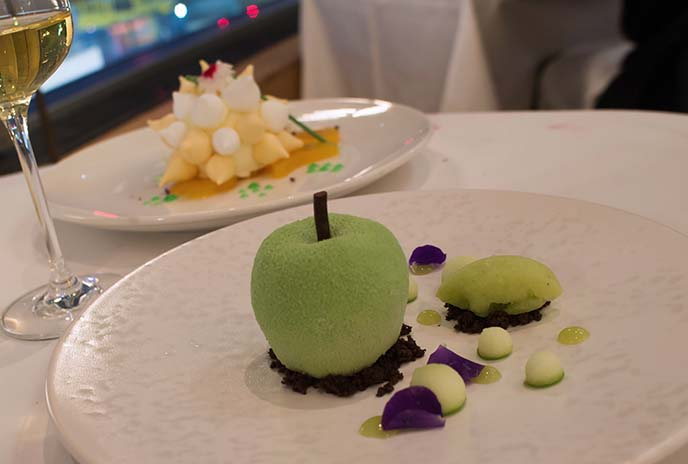 london creative desserts skylon