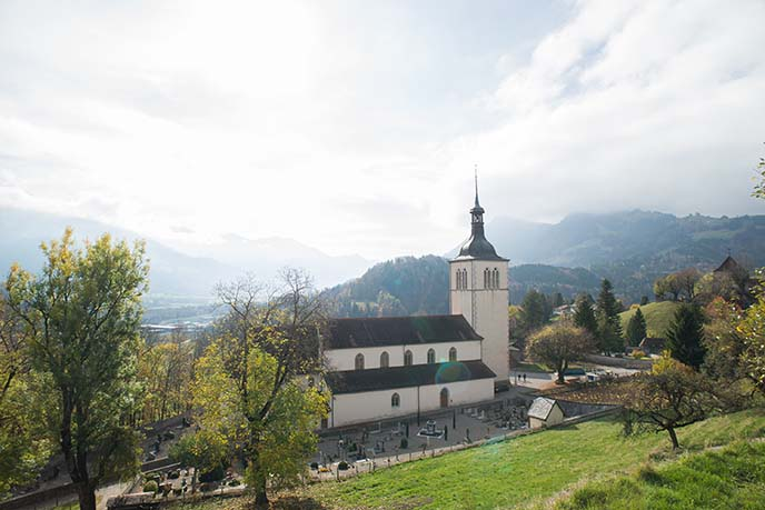 St. Theodul catholic church gruyeres