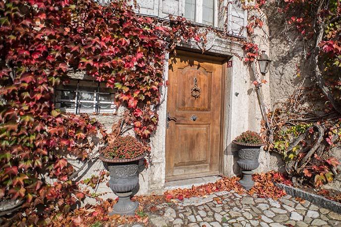 gruyeres quaint village switzerland