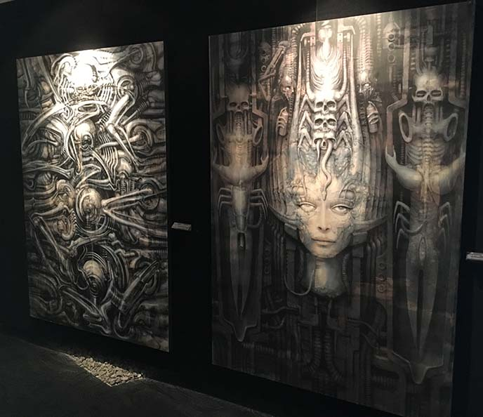 li ii giger painting woman