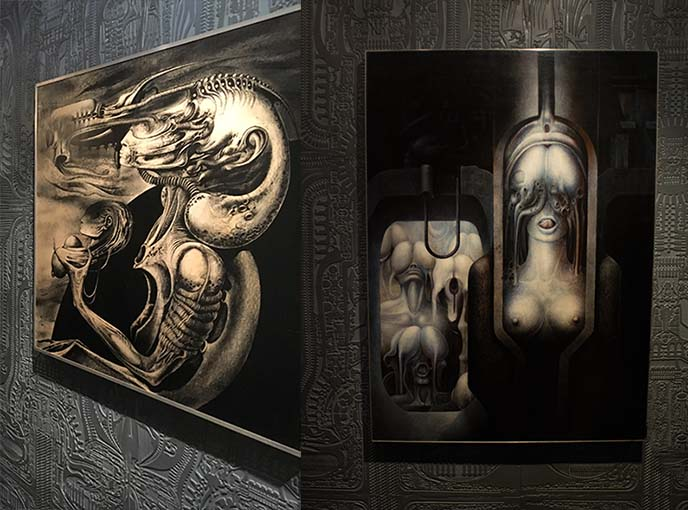 surrealist surreal giger art