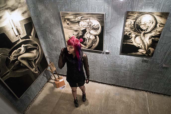 giger rare art prints museum