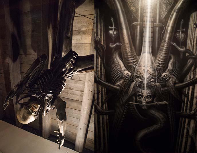 alien movie ridley scott art design
