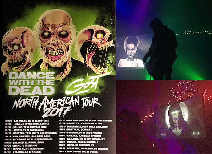 dance with dead gost north america tour