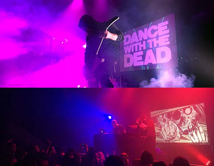 dance with the dead band performing