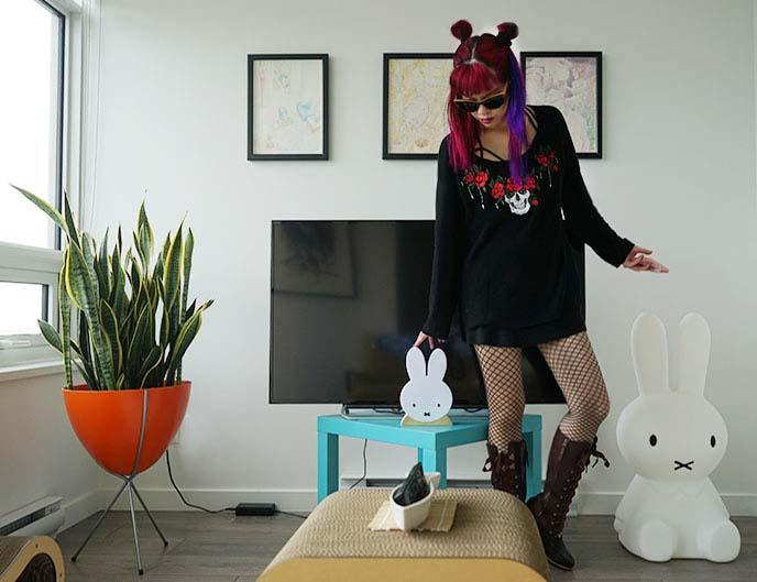 fashion blogger house design decor living room