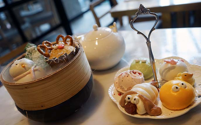 cute themed yum cha hong kong