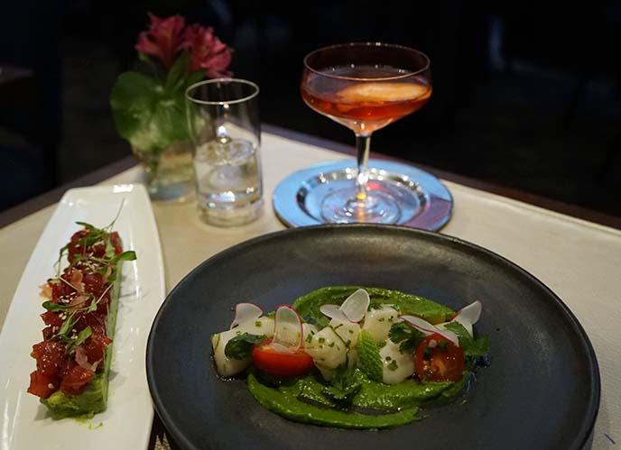 charlie palmer restaurant cocktails appetizers