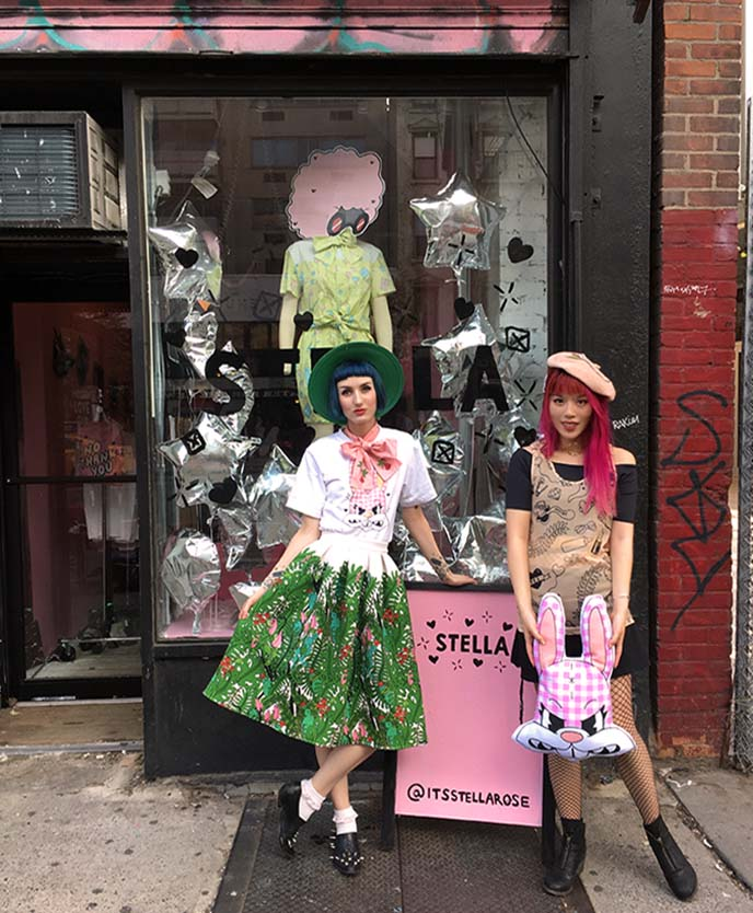 stella rose saint clair pop up shop