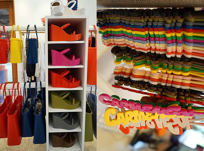 carmen sol jelly shoes sandals