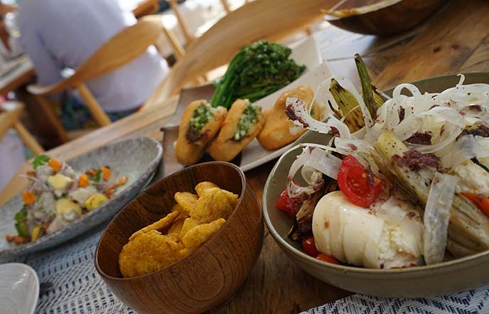 latin american appetizers minitas menu