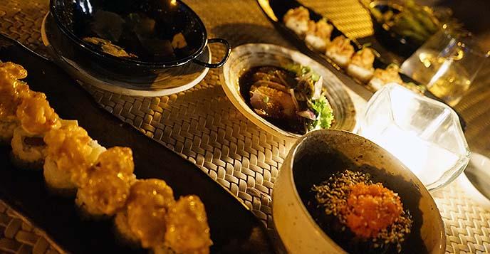 pubbelly sushi food menu