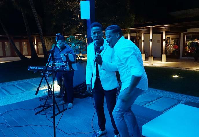 singing dancing dominican band