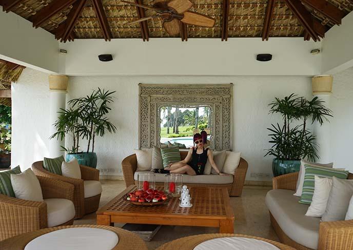 luxury cabana caribbean