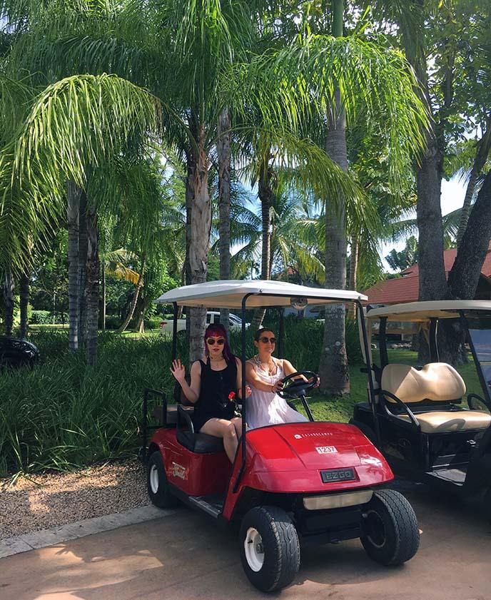 golf resort Caribbean