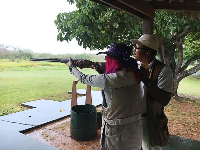 skeet shooting clay pigeon lessons
