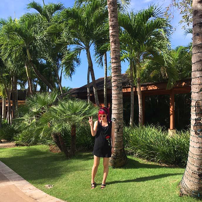travel blogger caribbean press trip, dominican republic casa de campo, tropical travel fashion blogger travels