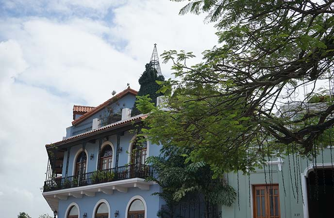 panama city colonial buildings