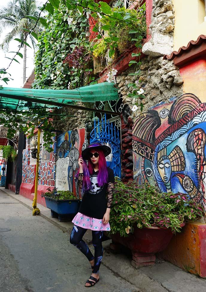 cuban street art murals callejon hamel