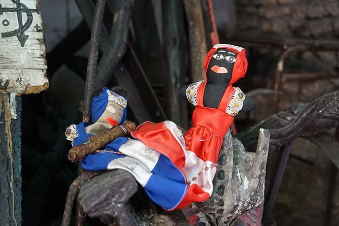 cuban witchcraft voodoo dolls art