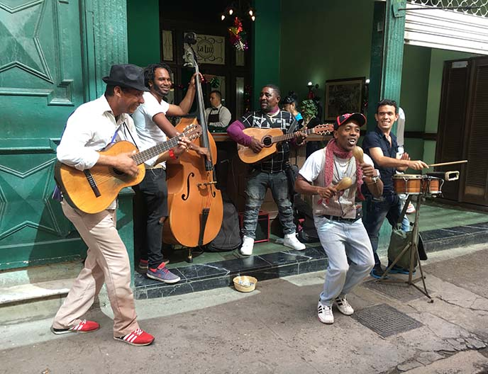 live band havana cuban music