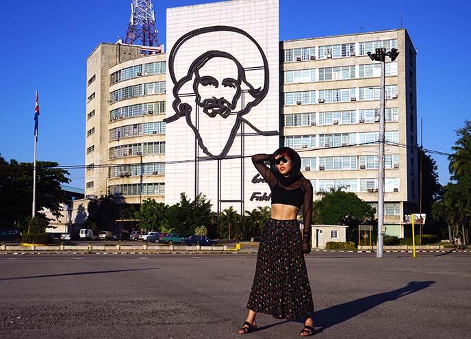 plaza de la Revolución cuba