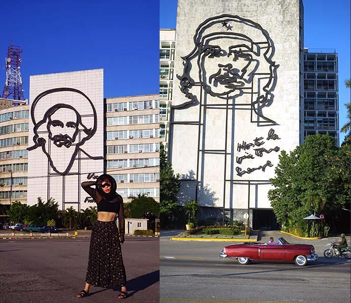 Camilo Cienfuegos Ministry of Interior building