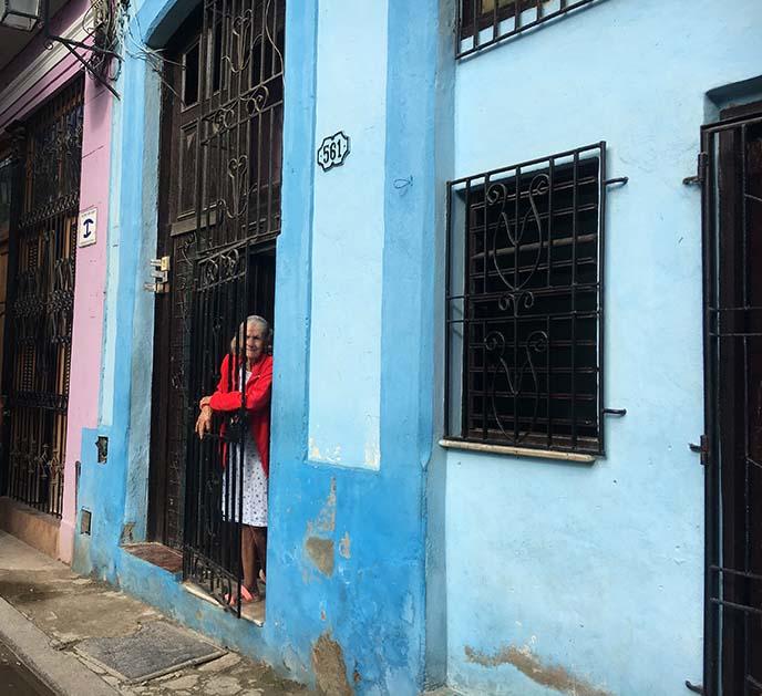 colorful buildings havana
