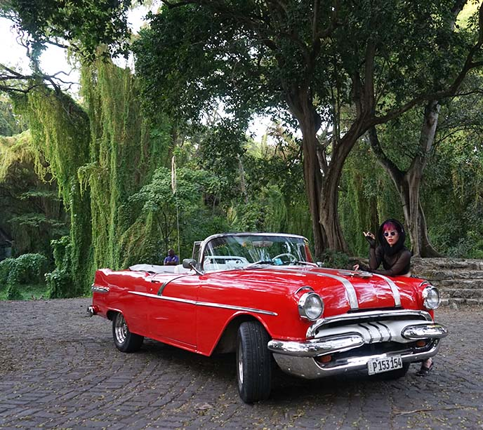 rent american classic car havana