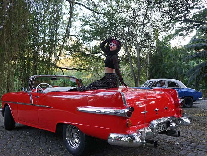 old havana vintage cars