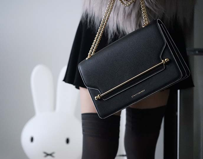 strathberry fashion blogger bags