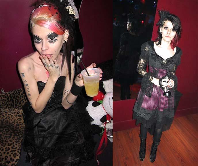 rose jrock gothic lolita styling