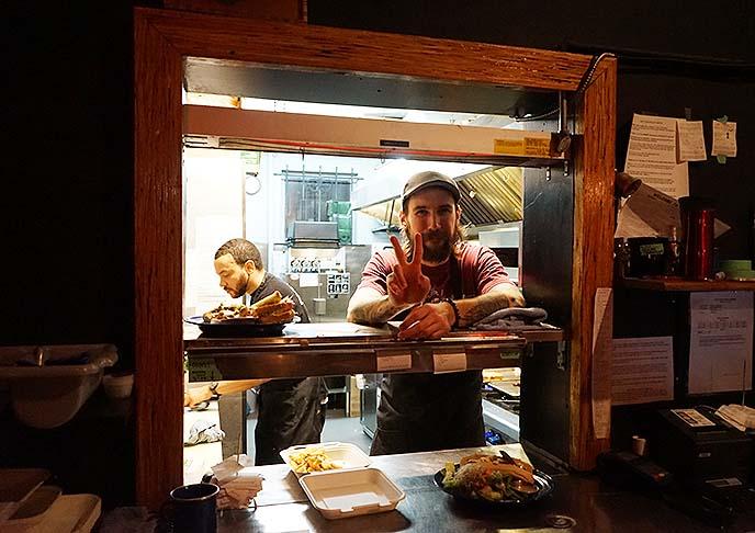vancouver black lodge, vegetarian restaurant