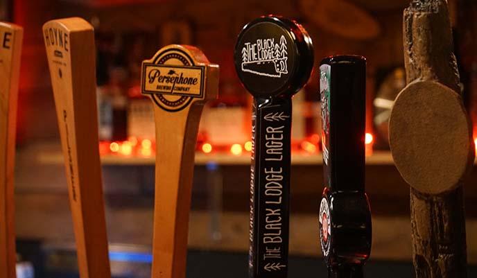black lodge lager, twin peaks beer